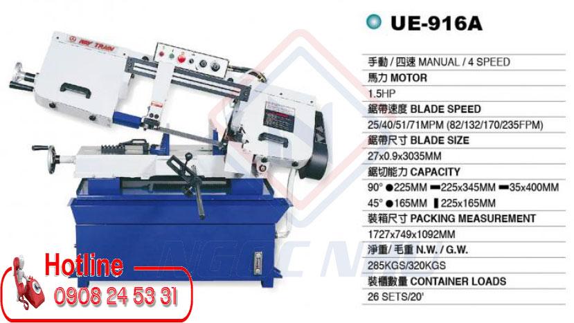 Đại lý cung cấp máy cưa vòng đài loan hiệu Waytrain Model UE-916A