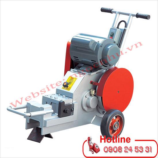 Nhà cung cấp máy cắt sắt xây dựng 25mm có bánh xe đẩy hiệu Kunwoo Model KMC-25