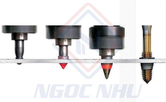 Ứng dụng của mũi khoan nóng chảy trong sản xuất